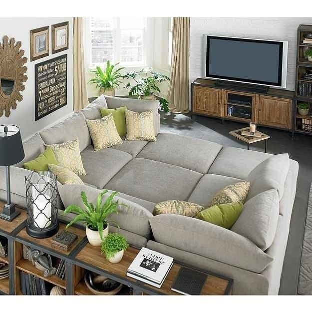 Large Sofas For Guests | Living room furniture, Living room sofa .