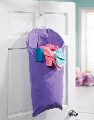 Small Space Solution: Back-of-the-door Laundry Hampers | Laundry .