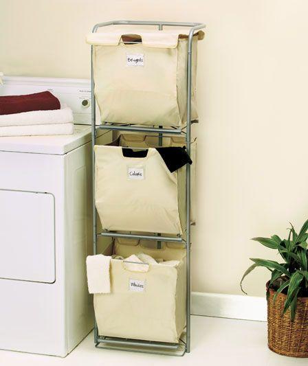 Laundry Hamper Ideas For Small Spaces Dubious 20 Genius DIY Room .