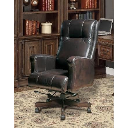 Top Grain Leather Executive Office Chair | RC Willey Furniture Sto