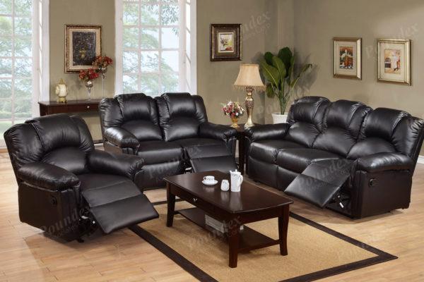 Espresso Recliner Sofa - Paradise Furniture Sto