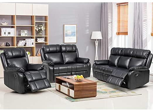 Amazon.com: FDW Recliner Sofa Set Sectional Sofa for Living Room .