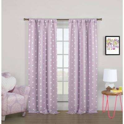 Lilac - Blackout Curtains - Curtains & Drapes - The Home Dep