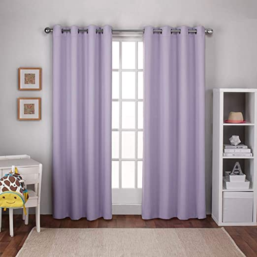 Amazon.com: Exclusive Home Curtains Textured Woven Blackout Window .
