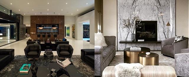 Top 50 Best Modern Living Room Ideas - Contemporary Desig