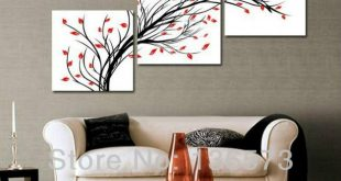 Elegant Living Room Wall Decor Set Best For Handmade Simple .