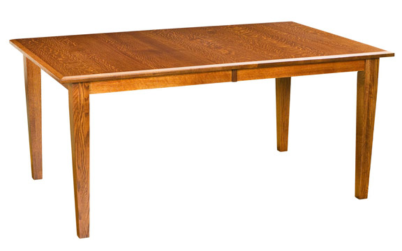 Narrow Shaker Table for $779.00 in Narrow Dining Tables   Amish .