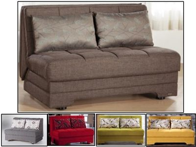 The Twist Convertible Full Size Loveseat Sofa Bed Click Clack by .