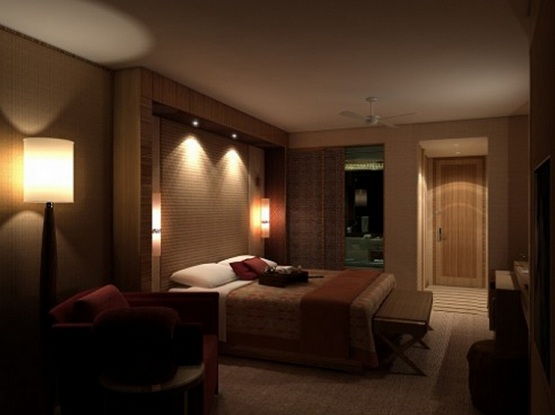 Master bedroom ceiling lighting ide