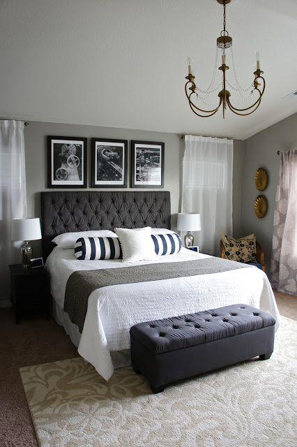 MASTER BEDROOM TRANSFORMATION | Chic master bedroom, Remodel .
