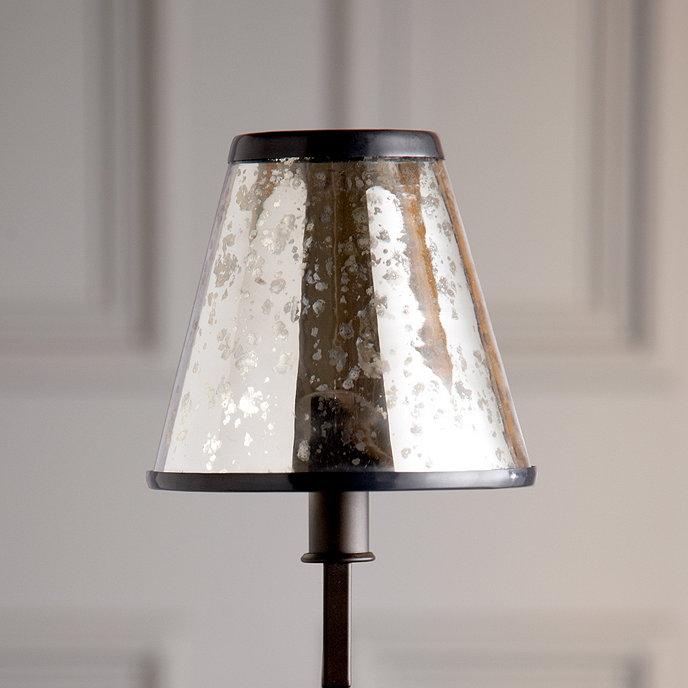 Mercury Glass Chandelier Shade | Ballard Desig