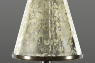 Mercury Glass Chandelier Shade | Ballard Desig