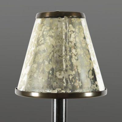 Mercury Glass Chandelier Shades