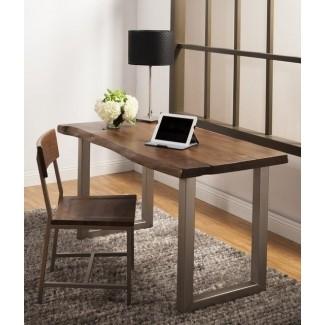 Solid Wood Home Office Desks - Ideas on Fot