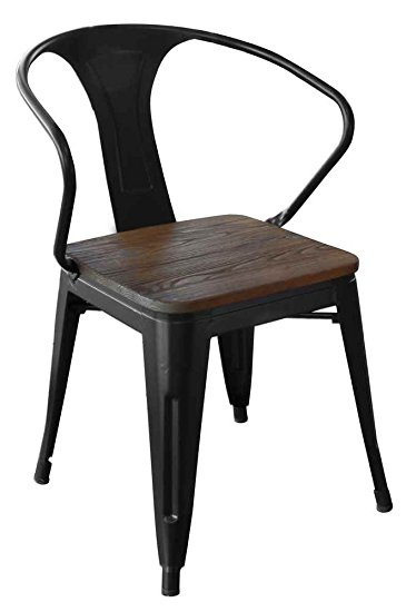 Black Metal Dining Chairs amazon.com – loft black - Home Decor Ide