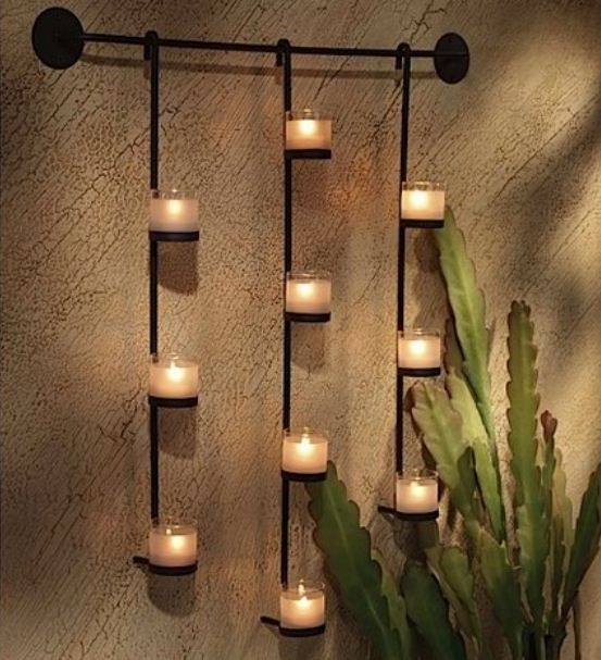 Candle Wall Sconces Images | Candle wall decor, Candle wall .