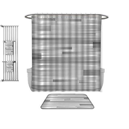 Amazon.com: QINYAN-Home 4 Piece Bath Rug Set-Modern Decor .