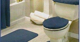 Modern 4 Piece Bathroom Rug Set | Rugs | Bathroom rug sets .