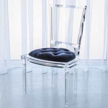 Modern Acrylic Clear Custom 8 Sets Dining Chairs For Home Hotel .