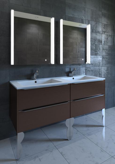Ella 21″ Contemporary Illuminated LED Bathroom Medicine Cabinet .