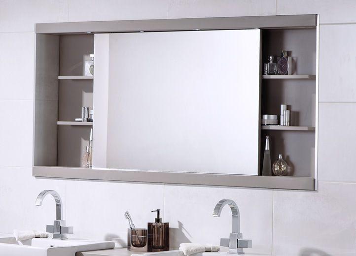 BATHROOM CABINET MIRRORS | Bathroom mirror cabinet, Large bathroom .