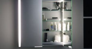 Illuminated Bathroom Mirror Cabinet | Bathroom mirror cabinet .
