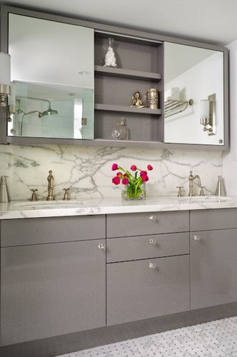 kids' bathroom + medicine cabinet | Bathroom mirror cabinet .