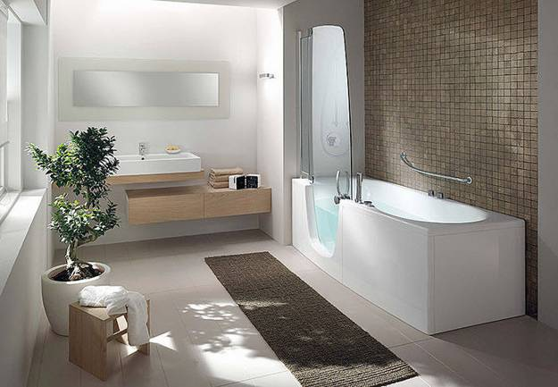 Stylish Bathtubs and Shower Enclosures, Modern Bathroom Design .