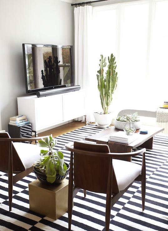 Ikea Stockholm Rug - Eclectic - living room - Benjamin Moore Half .