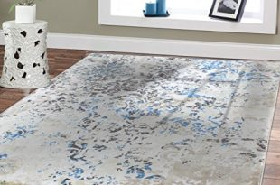 Premium Soft Contemporary Rug For Living Room Luxury 5x8 Cream .