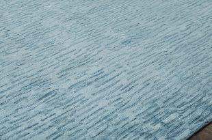 """Renzo Handmade Aegean Blue Area Rug,Blue 9'6"""" x 13' - Contemporary ."""