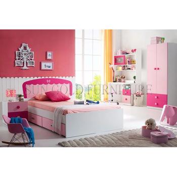 Modern Boys & Girls Bedroom Furniture Kids Bedroom Set (sz .