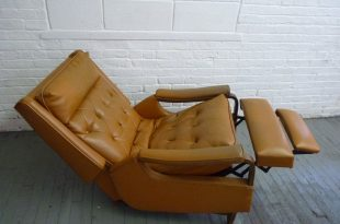 Mid Century Modern Rocker Recliner Lounge Chair | Modern recliner .
