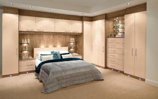 Space Saving Fitted Bedroom Furniture for Storage Creating Compact .