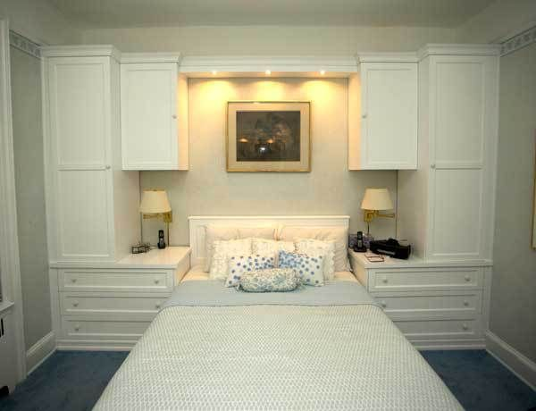 Custom - White Bedroom Wrap Around | Bedroom built ins, Bedroom .