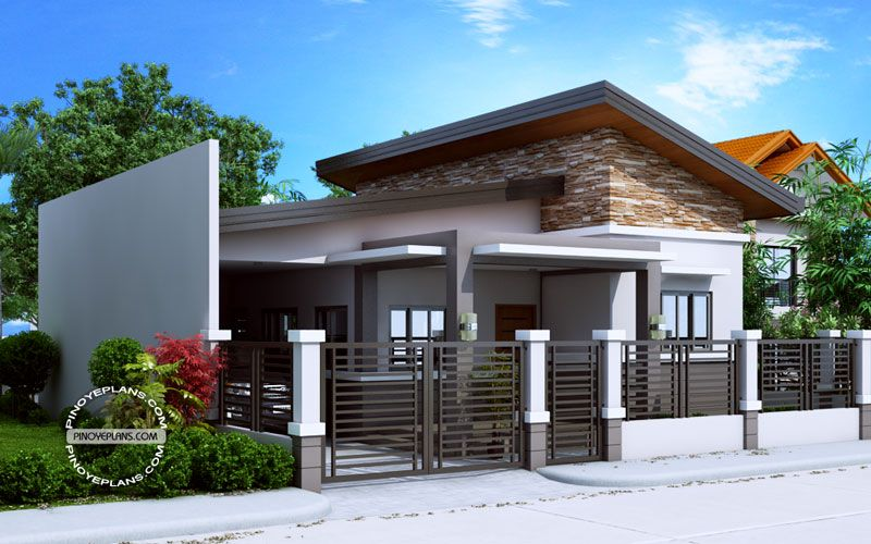 Small house floor plan - Jerica | Bungalow house design, Modern .
