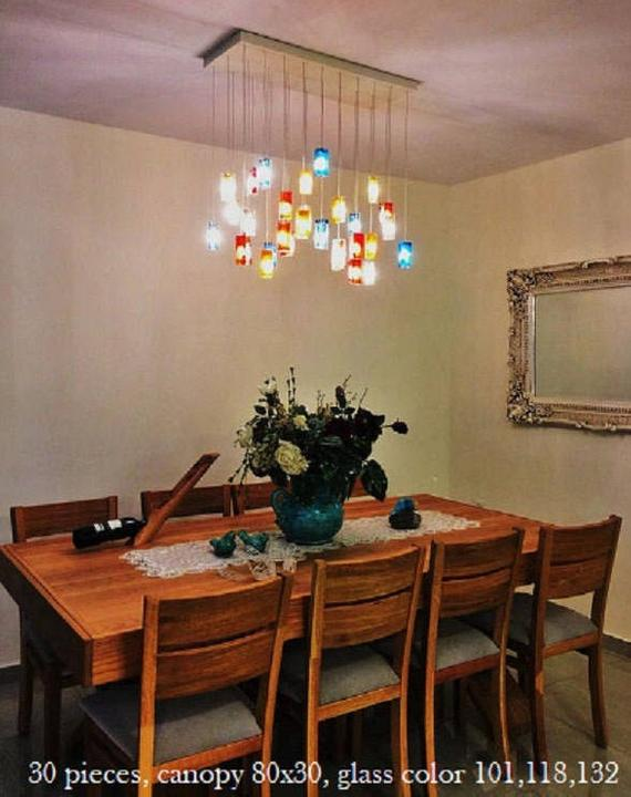 Modern chandelier lighting dining room lighting with your | Et
