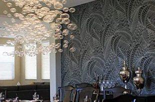 Moooni Modern Rectangular Bubble Chandelier Lighting Pendent .