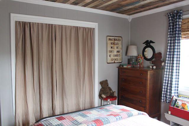 Ryder's Room: Details | Replacing closet doors, Closet door .