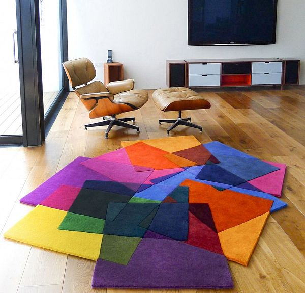 Colorful Area Rugs - Unique Rugs For The Living Room » InOutInteri