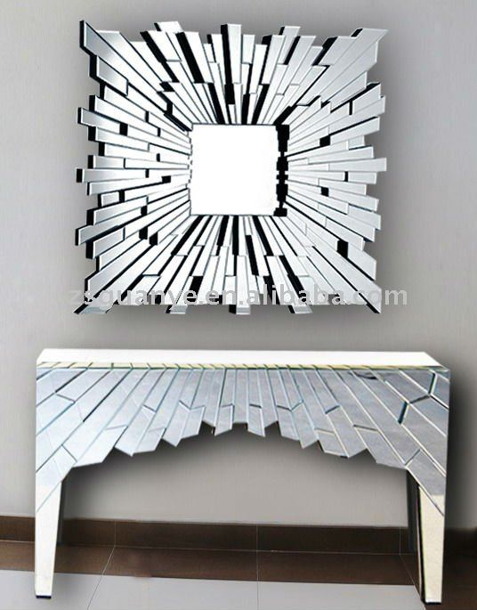 BUAT TESTING DOANG: Modern Mirror And Console Table Se