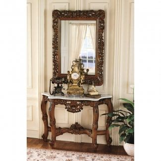 Entryway Table And Mirror Sets - Ideas on Fot