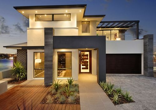 dramatic contemporary exteriors – Google Search | Facade house .