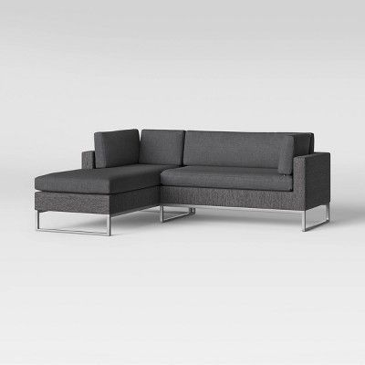 Modern Corner Chaise Lounge Chair | Chair | Patio loveseat .