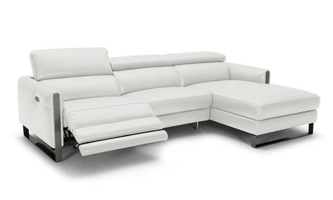 Adjustable Advanced Real Leather Sectional | Leather reclining .