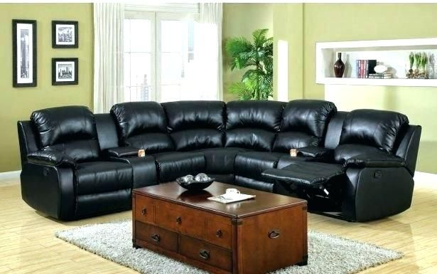 Modern Curved Sectional Sofa With Recliner | Sofa | Sectional sofa .