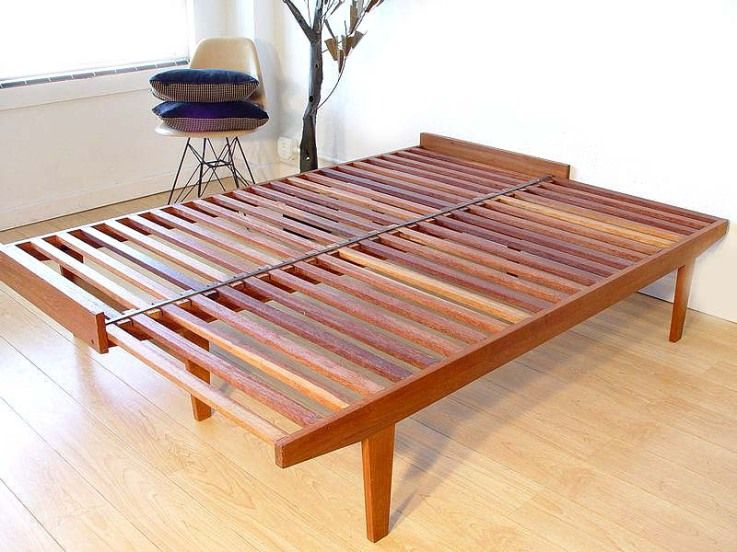Danish Modern Daybed Open-SOLD | Modern daybed, Diy daybed, Mid .