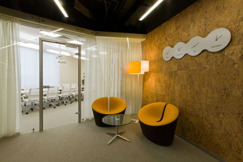 Yandex Modern Office Design By Za Bor Architects 04 Small Waiting .