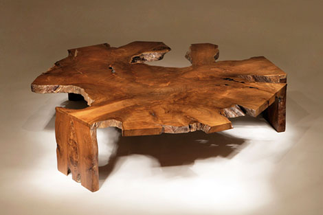 Rustic Modern Coffee Table by Chis
