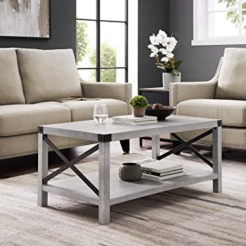 Amazon.com: Walker Edison Furniture Company Rustic Modern .